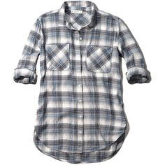 Abercrombie & Fitch Relaxed Plaid Shirt ($29) ❤ liked on Polyvore featuring tops, shirts, navy plaid, navy blue shirt, tartan top, relaxed fit tops, plaid shirt et navy shirt