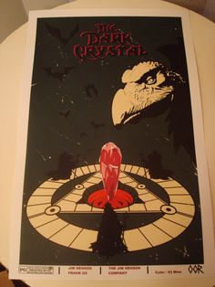 The Dark Crystal movie poster print. $6.99, via Etsy.