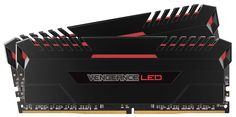 CORSAIR VENGEANCE LED Series DDR4 memory modules are designed to provide a unique look with vibrant LEDs, bold color accents and a precision engineered light bar. Created specifically to pair with the design themes of mid-range and high-end motherboards and other PC gaming components.
