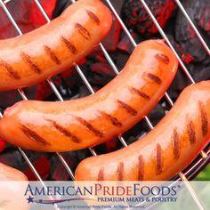 Football Hot Dogs, Brats, & Burgers