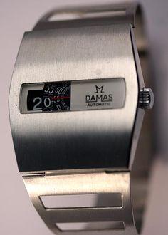1972 Damas Automatic Jump Hour Digital