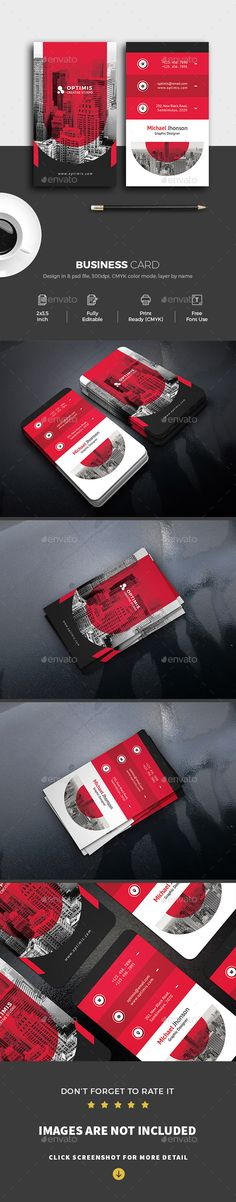 Buy Corporate Business Card by shapetrick on GraphicRiver. Features: 2 PSD File include Die cut printing possible Print Size (Bleed size x Photoshop PS. Cool Business Cards, Corporate Business, Business Card Design, Visual Identity, Color Change, Photoshop, Marketing, Card Designs, Creative