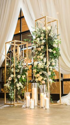 Awesome 31 Perfect Winter Wedding Centerpieces Ideas To Try This Day New Years Wedding, New Years Eve Weddings, Wedding Stage, Wedding Ceremony, Winter Wedding Receptions, Winter Wedding Centerpieces, Backdrop Decorations, Wedding Reception Decorations, Prom Decor
