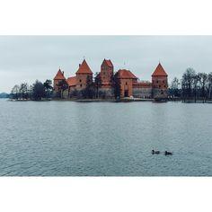 Trakai castle in Lithuania. Photo by Dmitri Korobtsov.
