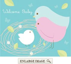 81 best bird themed baby shower images on pinterest burlap table nesting birds budget priced baby shower invitations package of filmwisefo