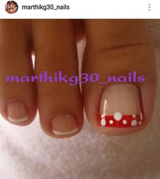 Mis bellas uñas Toe Nails, Color, Beauty, Sour Cream, Fingernails Painted, Decorations, Toe Nail Art, Pretty Toe Nails, Christmas Nails