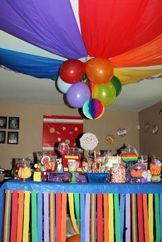 Candy/Sweets/Dessert/Rainbow Birthday Party Ideas | Photo 2 of 47 | Catch My Party