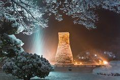 첨성대--ancient observatory, korea