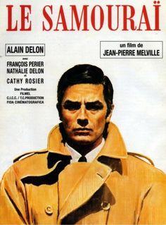 « Le Samouraï », film de Jean-Pierre Melville est sans doute le chef-d'œuvre du genre par sa sobriété, sa rigueur, son unité de temps, son économie de moyens et la remarquable interprétation d'Alain Delon, au sommet de son art, dont la présence magnétique...