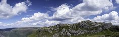 Mountain Panorama by Eirik Sørstrømmen on Bergen, Norway, Mountain, Clouds, Photography, Outdoor, Outdoors, Photograph, Photo Shoot