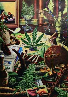 """""""Beautiful marijuana art. Pot, bud, 420, everywhere!"""" - explained another pinner. And ineed there is!"""