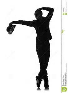 young male dancer dancing on white stock photo stock image clipart