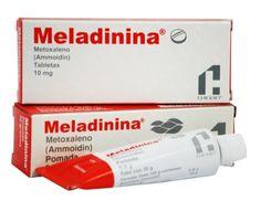 pomada MELADININA para el vitiligo