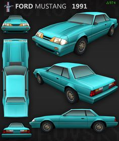 Concept Cars, Great Britain, Ford Mustang, Autos, Ford Mustangs