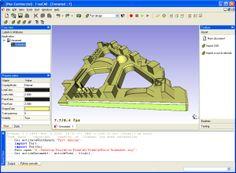 Es un modelador 3D que permite modificar los diseños fácilmente modificando sus parámetros.