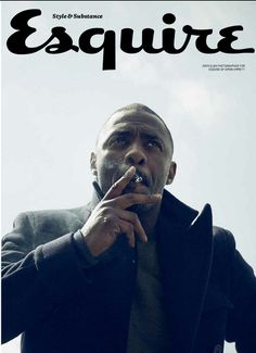 """""""Deadline reports that The Weinstein Co. is in talks with Laurence Fishburne and Idris Elba to direct and star, respectively, in the adaptation of Paolo Coelho's international bestseller The. Idris Elba, Esquire Uk, Gq, Look At You, How To Look Better, Recurring Dreams, Uk Magazines, Man Alive, Looks Cool"""