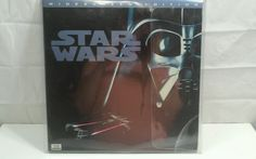 """Star Wars """"A New Hope"""" 1995 LD ORIGINAL VERSION WideScreen THX LaserDisc"""