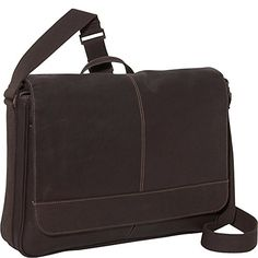 Kenneth Cole Reaction Come Bag Soon - Colombian Leather Laptop