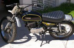Vintage Yamaha Enduro 360 restored by Barracuda Racing