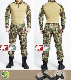MANDRAKE-Gen3-G3-Combat-Suit-Shirt-Pants-Army-Military-Airsoft-Hunting-Kryptek