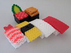 Sushi Set / hama perler beads