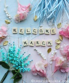 The Villa On Mount Pleasant:  Well hello March, you've arrived so quickly! Lovely to see you though! Tamsyn x