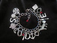 Vampire Diaries Charm Bracelet by alohabluedolphin on Etsy https://www.etsy.com/listing/202488192/vampire-diaries-charm-bracelet
