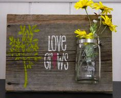 barn wood signs   Barn Wood Signs - This rustic barnwood sign is handpainted with the ...