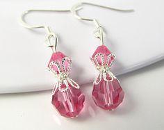 pink jewelry – Etsy