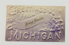 Grand Rapids postcard - c. 1940