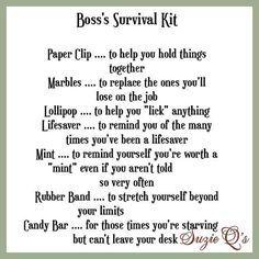 Image result for office stress survival kit