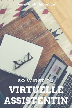 - You want to become a Virtual Assistant? Here you will find the most important tips for your start! Make Money Blogging, How To Make Money, How To Become, Debt Free Living, Neuer Job, Small Minds, Business Inspiration, Home Jobs, Buisness