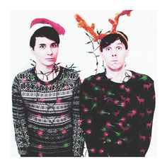 dan and phil christmas holiday pictures - Google Search