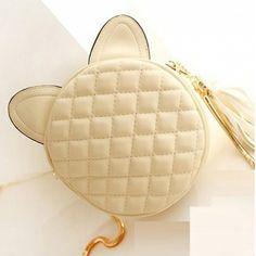 USD14.99Women Fashion Solid Zipper Beige PU Shoulder Bag