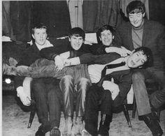 The Animals having fun c.1964