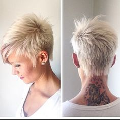 Short pixie hairstyles is a good choice for you. Here you will find some super sexy Short pixie hairstyles, Find the best one for you, Cute Haircuts, Short Pixie Haircuts, Popular Haircuts, Short Hair Cuts, Pixie Cuts, Layered Haircuts, Edgy Short Hair, Summer Haircuts, Short Blonde
