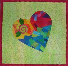 quilt....heart heart heart..