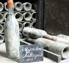 Tsar Nicolas 1915 white muscat wine bottle #winetasting #crimea #blacksea #travel
