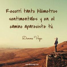 Kilómetros sentimentales #amor #love