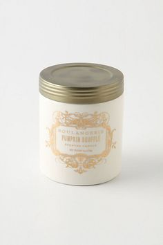 Absolutely nothing can make a room feel cozier than a fabulous candle. Choose from Pumpkin Souffle, Apple Brown Sugar, Vanilla and Fig, Angel Food, Sweet Vanilla and Cinnamon, and Whipped Cream and Pear. Are these candles or desserts??