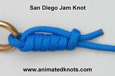 San Diego Jam (Reverse Clinch) Knot | How to tie a San Diego Jam Knot | Fishing Knots
