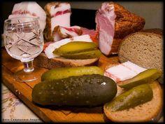 Картинки Сало Огурцы Хлеб Пища Вторые блюда Еда Продукты питания