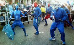 Blue Devils mas #Trinidad #Tobago #Carnival