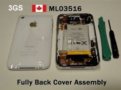 iPhone 3GS White Back Cover/Housing Fully Assembly 32GB Price= $65.35