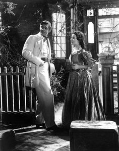 Gone with the Wind Year : 1939 USA Clark Gable, Vivien Leigh Director: Victor Fleming, Stock Photo, Picture And Rights Managed Image. Olivia De Havilland, Vivien Leigh, Clark Gable, Go To Movies, Old Movies, Great Movies, Classic Hollywood, Old Hollywood, Wind Movie