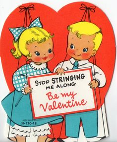 Vintage VALENTINE Greeting Card Sweet by ReTroStyleMerCantile