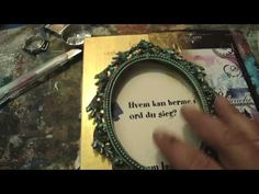 "My Altered Book Begins-There are plenty of altered book tutorials on youtube, but for some reasons, this one is my favorite. The book I just started isn't as ""grand"" but it is cool, cool, cool."