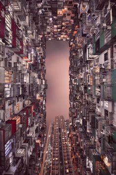 Vertical Landscape of Hong Kong
