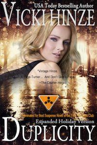 Vicki Hinze, Duplicity (Clean Read Version), military romantic suspense, thriller