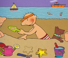 """Welkom in ons kleuterklasje! : Thema: """"Water en zand!"""""""